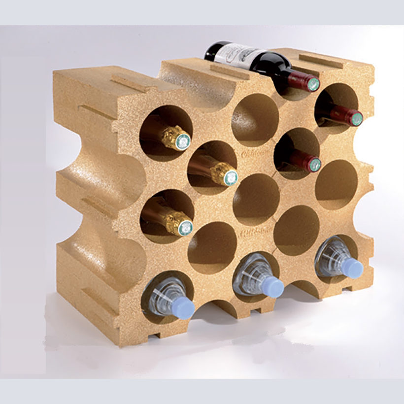 casier bouteilles polystyrène 15 bouteilles  mottez